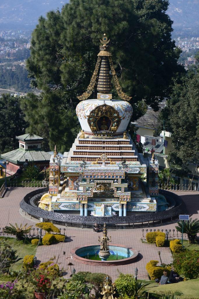 Lama Konchog's stupa