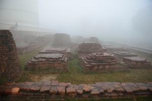 2nd century BC stupas, Kushinagar
