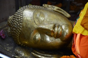 Buddha on death bed
