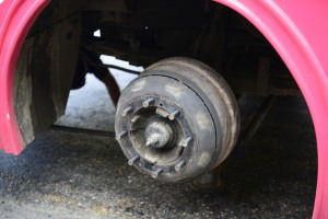 cracked brake drum