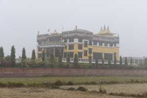 newer Tibetan Monastery outside site