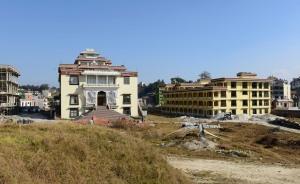 Nunnery gompa & housing