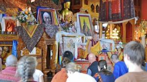Venerable Gyatso teaching