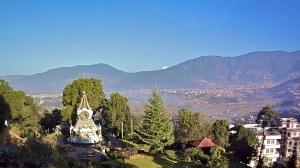 view from Kopan hill