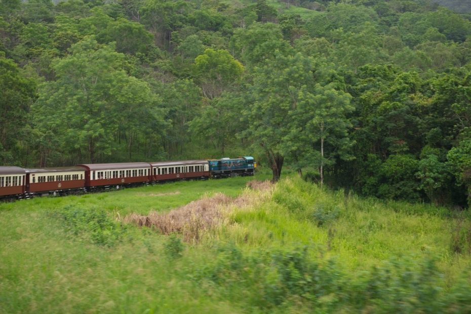 Kuranda Scenic Railway train-3