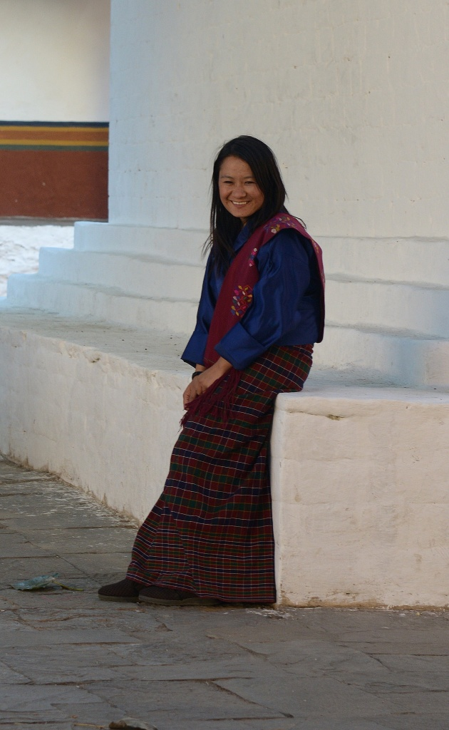 bhutanese-woman