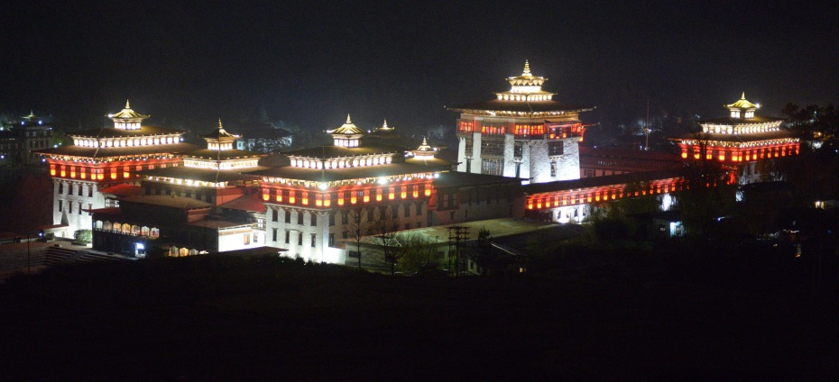 royal-fort-at-night
