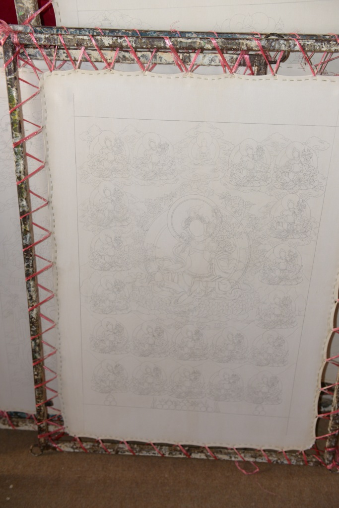 thangka-before-painting