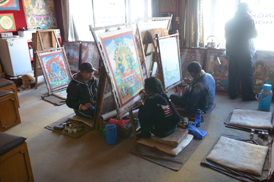 thangka-painters