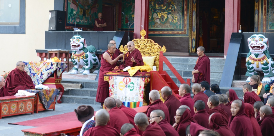 Lama Zopa on his birthday